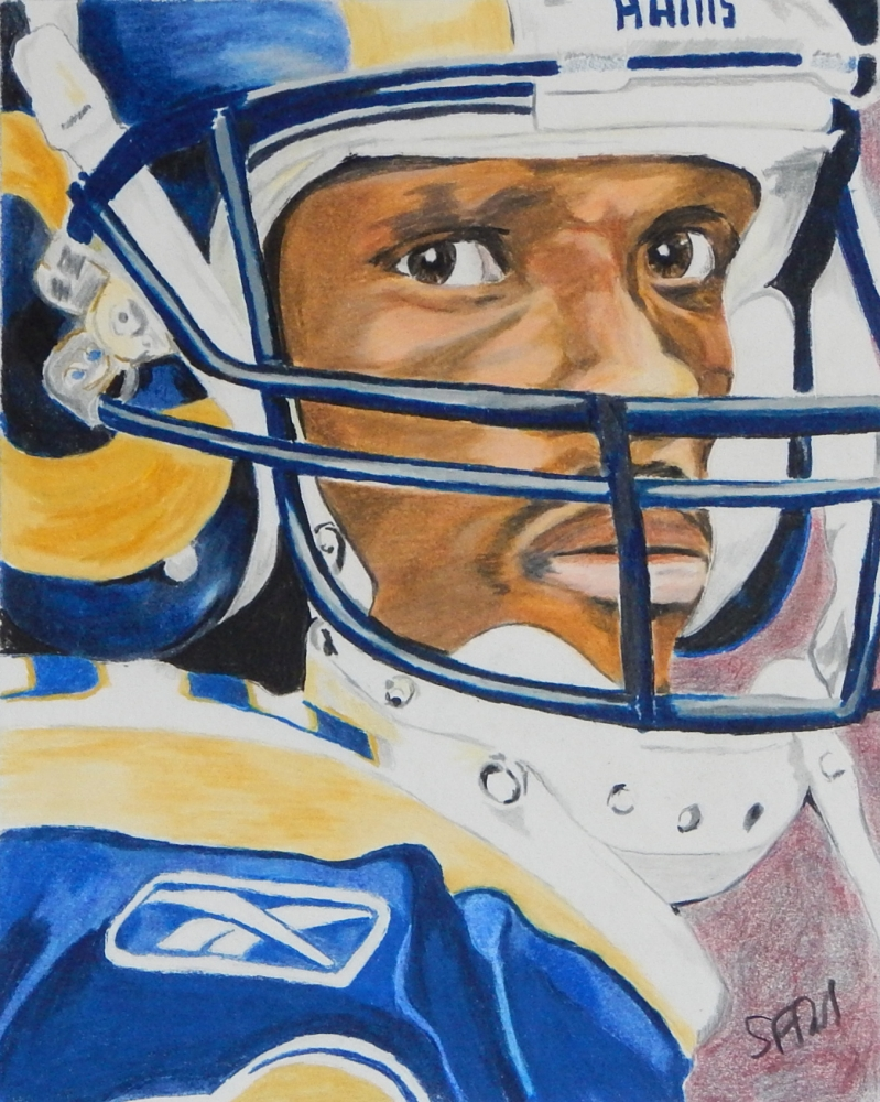 Isaac Bruce by steveteets